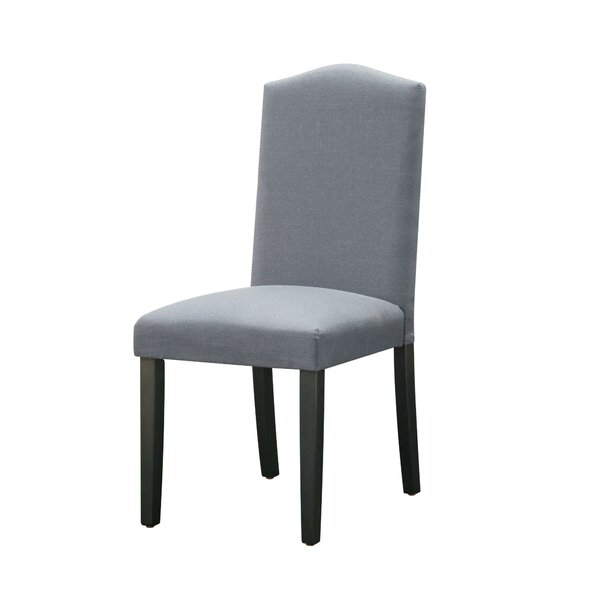 Favore Upholstered Parsons Chair in Gray (Set of 2) by Red Barrel Studio Red Barrel Studio®