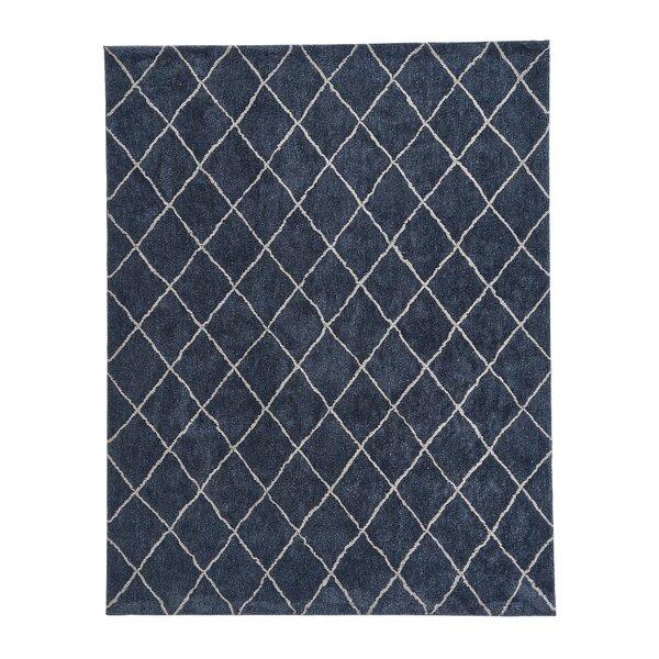 Kyzer Trellis Blue Area Rug by Mercer41