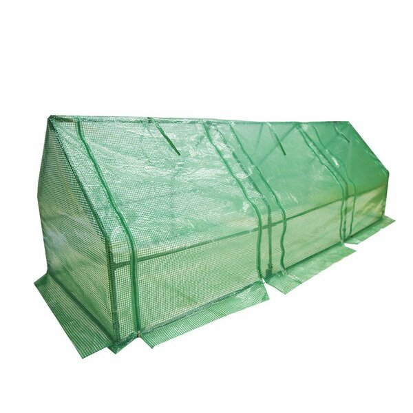 9 Ft. W x 3 Ft. D Mini Greenhouse by Abba Patio