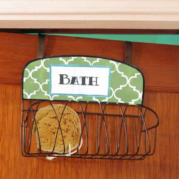 Bath Lattice Over the Door Organizer by Stupell Industries
