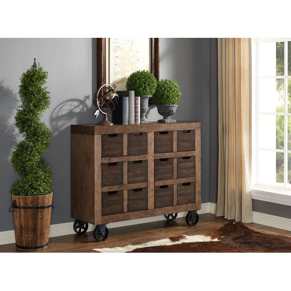 Auburn Accent Cabinet, Fully Assembled, Brown by Gracie Oaks Gracie Oaks