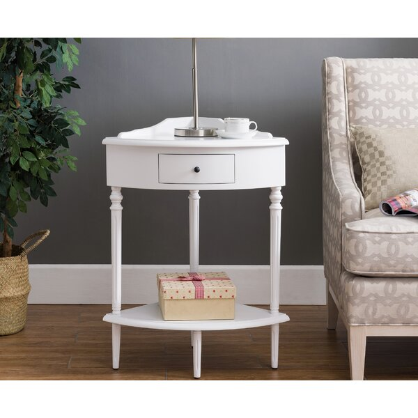 Christenson End Table With Storage By Charlton Home