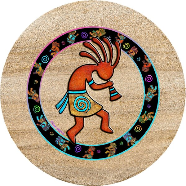 Kokopelli Toss Trivet by Thirstystone
