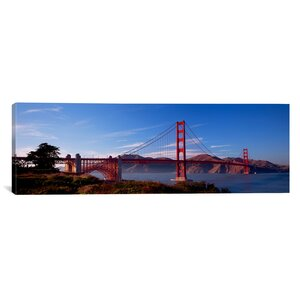 'Golden Gate Bridge San Francisco, California' Photographic Print on Canvas by East Urban Home