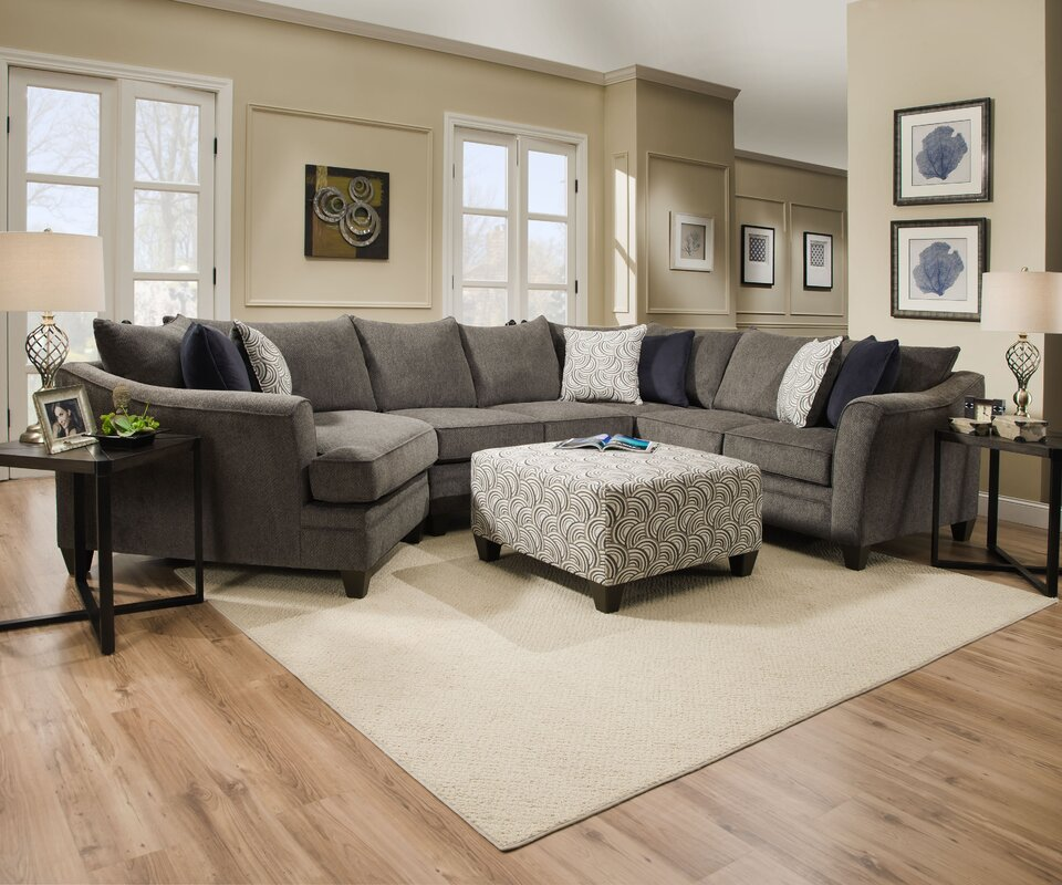 default_name - Simmons Sectional Collection & Reviews Joss & Main