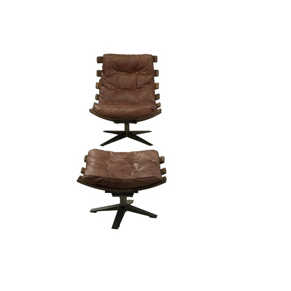 Demartini Swivel Lounge Chair And Ottoman By 17 Stories Reviews