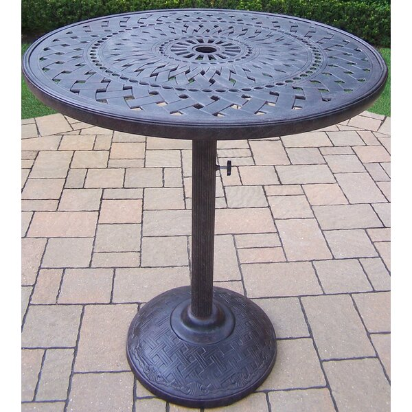 Vandyne Metal Bar Table by Darby Home Co Darby Home Co
