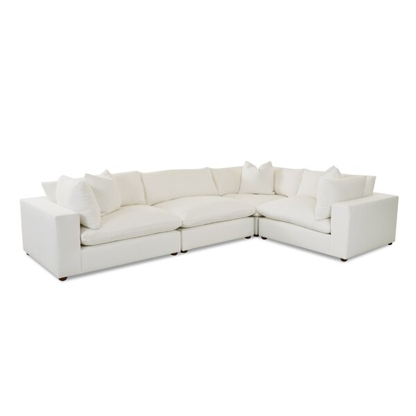 L-Shaped Modular Sectional By Wayfair Custom Upholstery™