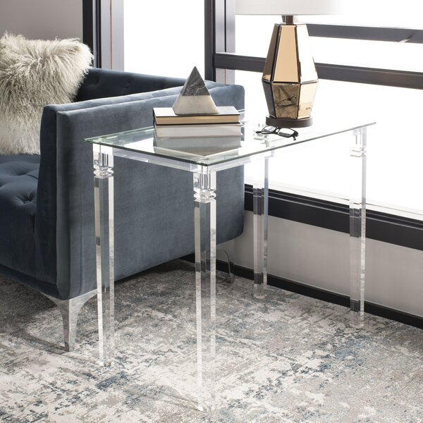 Amelie Acrylic End Table by Mercer41