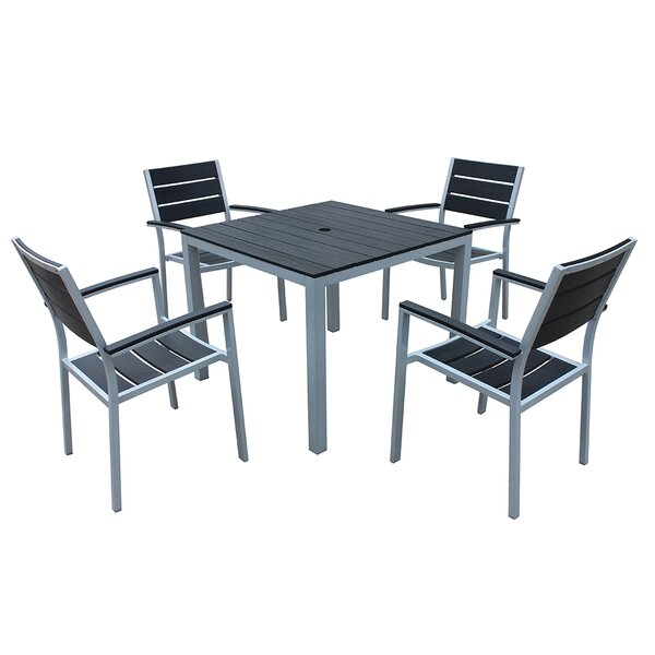 Kairo 5 Piece Dining Set by Orren Ellis
