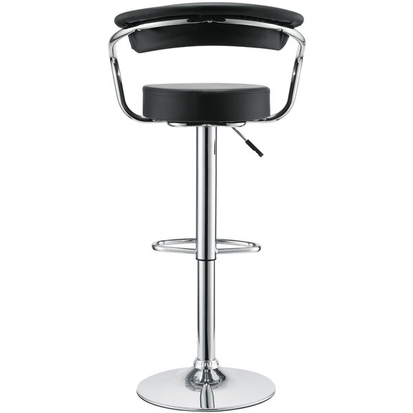 Diner Adjustable Height Swivel Bar Stool (Set of 4) by Modway
