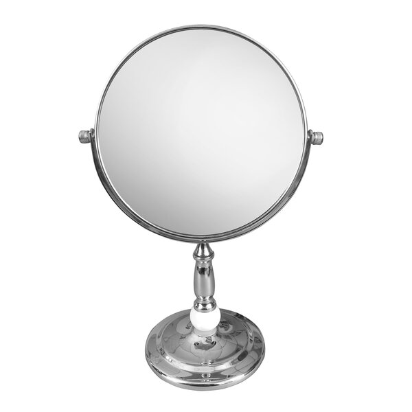 Freestanding Magnifying Makeup Mirror by Elegant Home Fashions