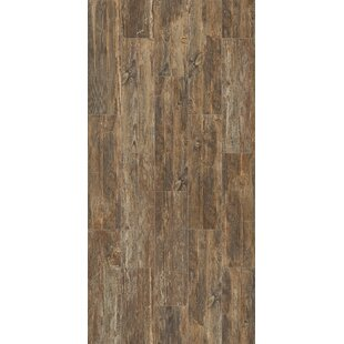 Tampico 7 X 24 Ceramic Wood Look Tile In Dark Brown