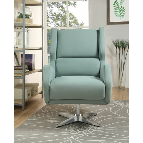 Pilika Swivel Armchair by Orren Ellis Orren Ellis