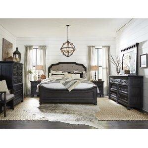 wood bedroom set. Alona Wood Panel Customizable Bedroom Set Solid Furniture  Wayfair