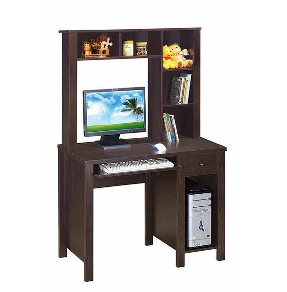 Inyo Computer Desk with Hutch