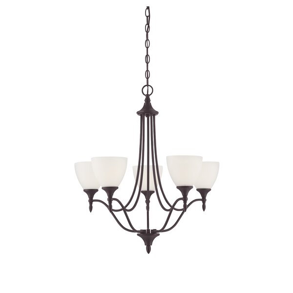 Ellender 5-Light Shaded Empire Chandelier By Charlton Home