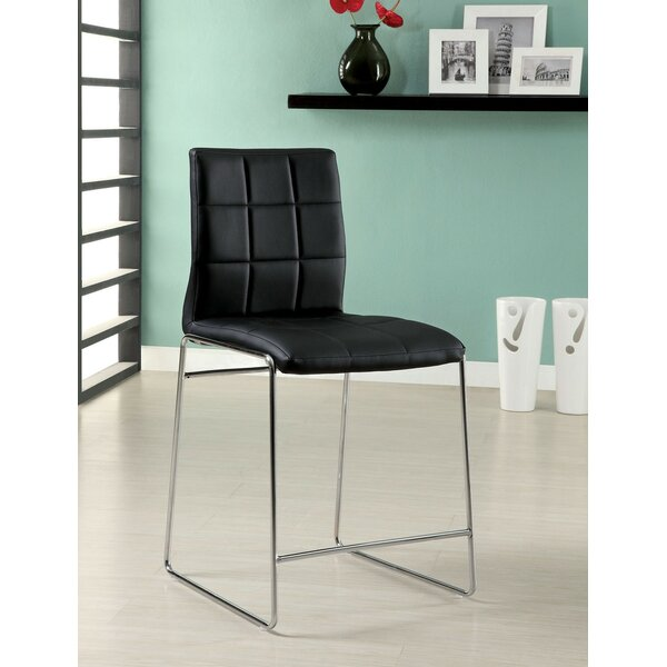 Harbaugh Counter Height Upholstered Dining Chair (Set of 2) by Orren Ellis