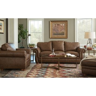 Winslow Leather Configurable Living Room Set by Craftmaster