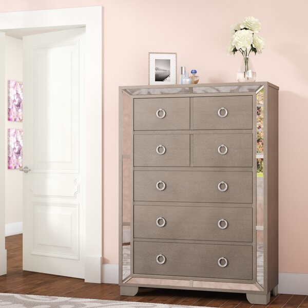Dowson 5 Drawer Lingerie Chest by Willa Arlo Interiors