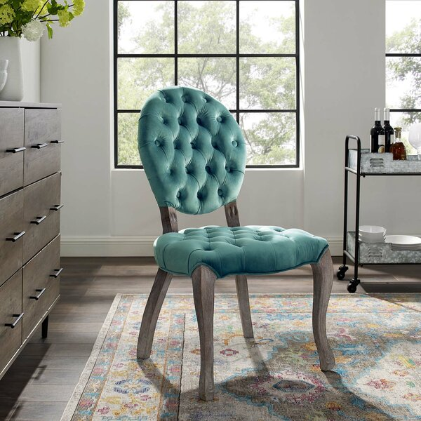 Best Choices Jeff Upholstered Dining Chair By Ophelia & Co. Comparison