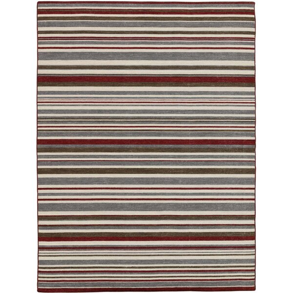 Cavanaugh Modern & Contemporary Flat-Weave Multicolored Area Rug by Highland Dunes