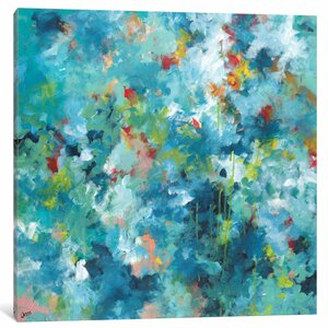 Rainforest Painting on Wrapped Canvas by East Urban Home
