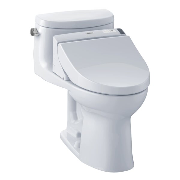 Supreme 1.28 GPF Elongated One-Piece Toilet by Toto