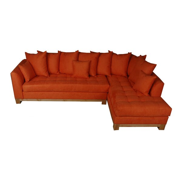 Flint Right Hand Facing Sectional By Bayou Breeze