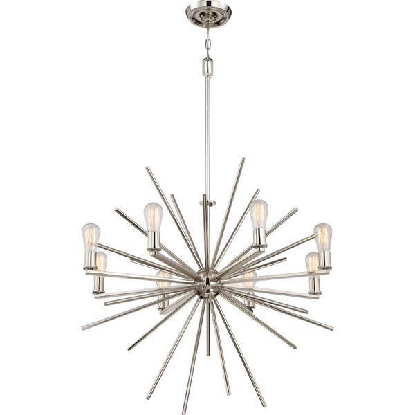 Ceil 8-Light Chandelier by Corrigan Studio