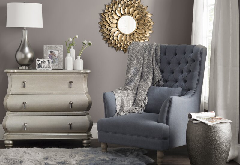 Living Room Chest Of Drawers. Carlene 3 Drawer Bombe Chest  Traditional Living Room Design Willa Arlo Interiors Reviews Wayfair