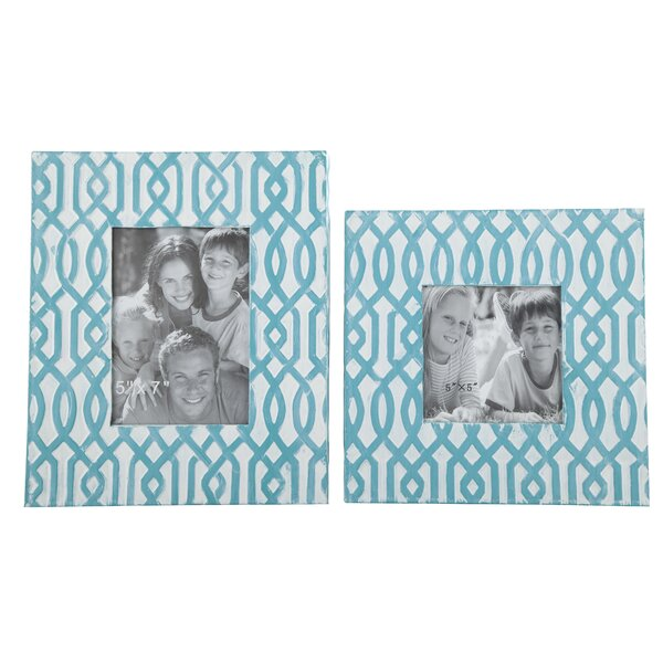 2 Piece Picture Frame Set by Bungalow Rose