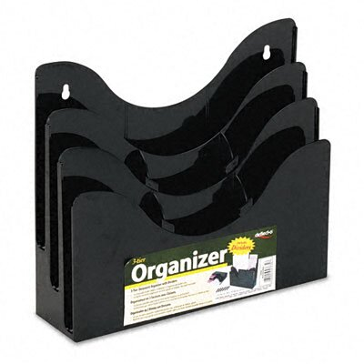 3-Tier Document Organizer with Dividers by Deflect-O Corporation