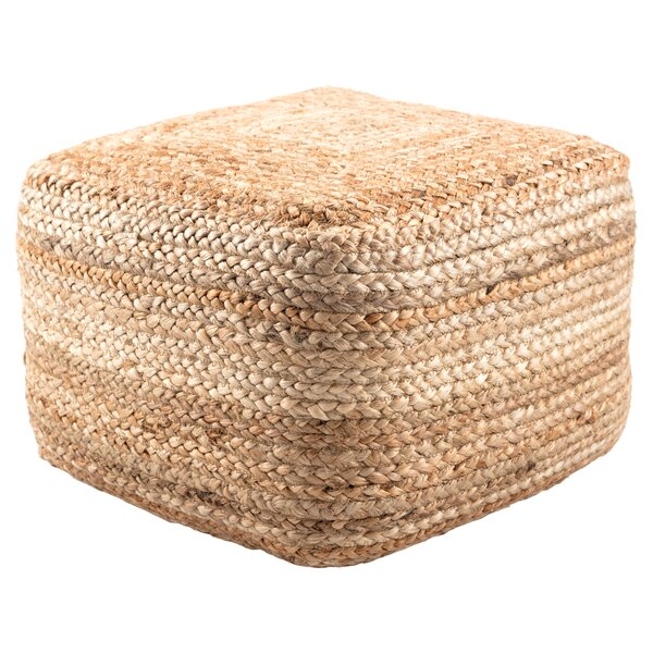 Efrain Pouf by Modern Rustic Interiors