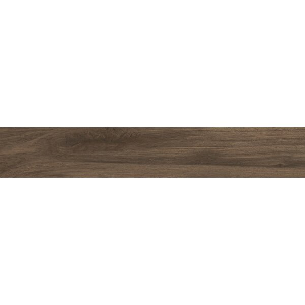 Centennial Arbor 6 x 24 Porcelain Wood Look Tile in Brown by Parvatile