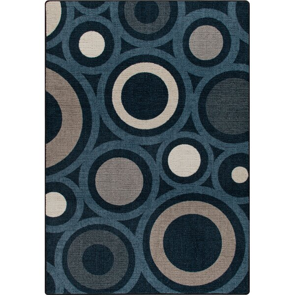 Mix and Mingle Indigo in Focus Rug by Milliken