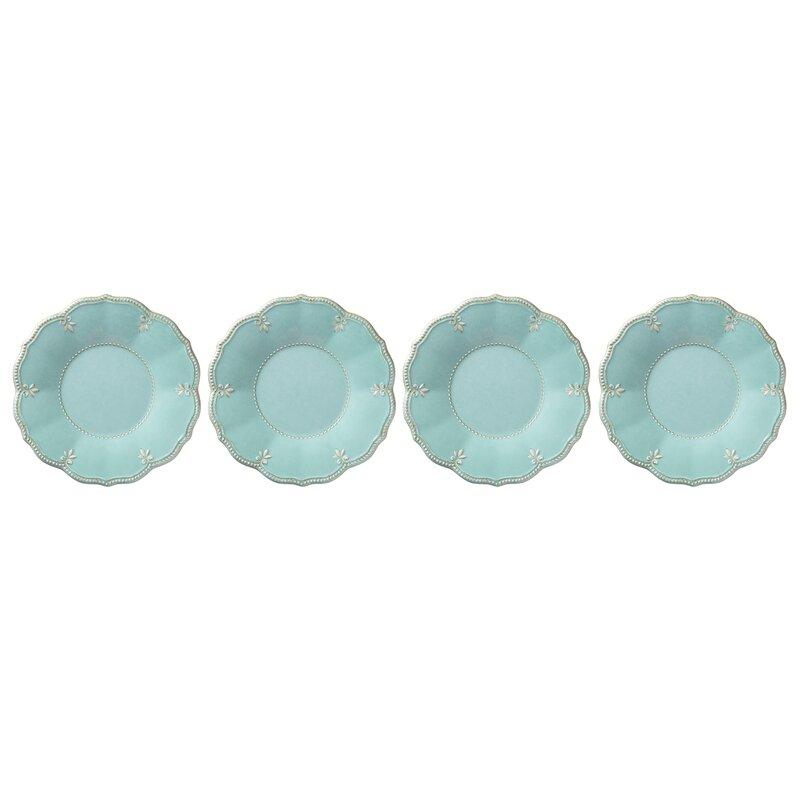 """French Perle 9"""" Melamine Dessert Plate"""