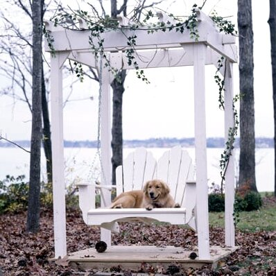 Fanback Porch Swing by Uwharrie Chair Uwharrie Chair