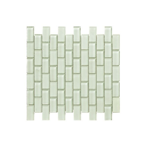 12 x 12 Glass Mosaic Tile in Glossy by Kellani