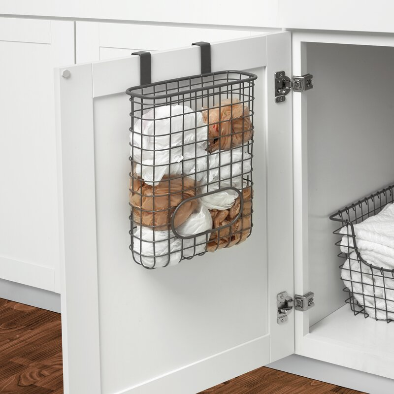 Grid Over Cabinet Door Organizer