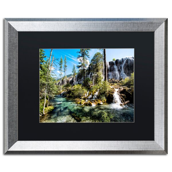 Pearl Shoal by Philippe Hugonnard Framed Photographic Print by Trademark Fine Art