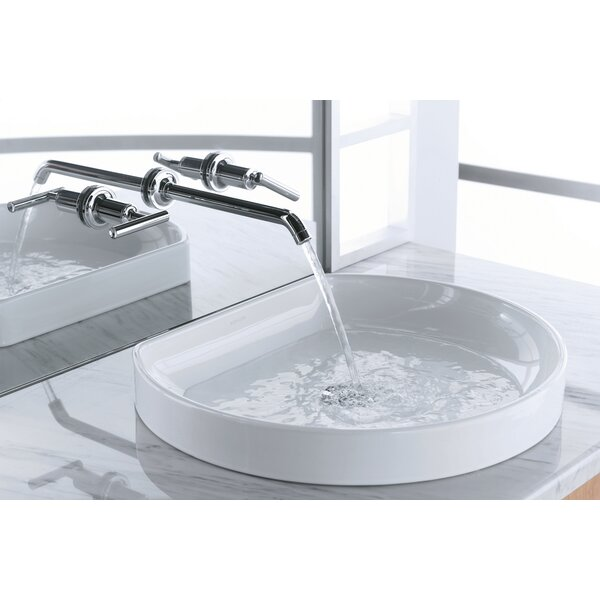 Water Cove Ceramic Specialty Drop-In Bathroom Sink by Kohler