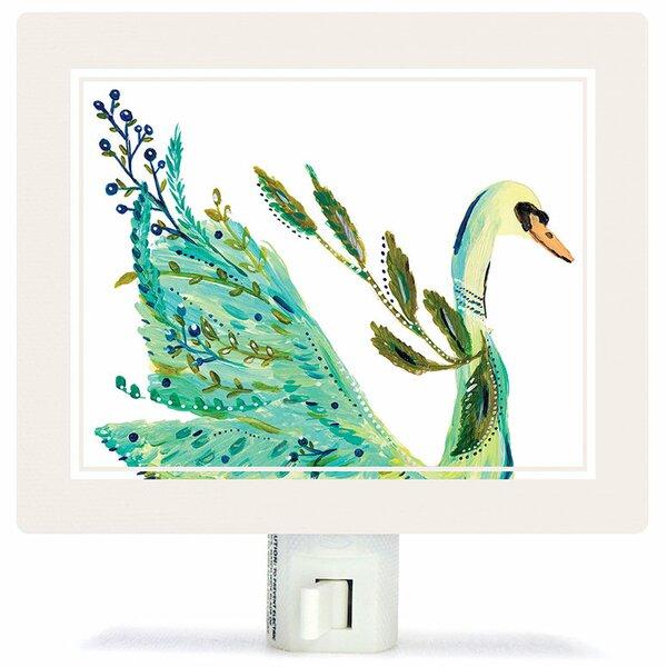 Boho Swan Night Light by Oopsy Daisy
