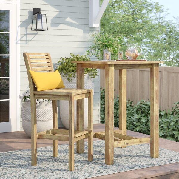 Manchester 2 Piece Bar Height Dining Set by Sol 72 Outdoor