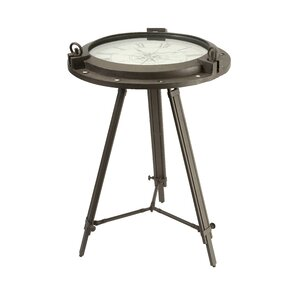 Tripod Clock End Table by IMAX