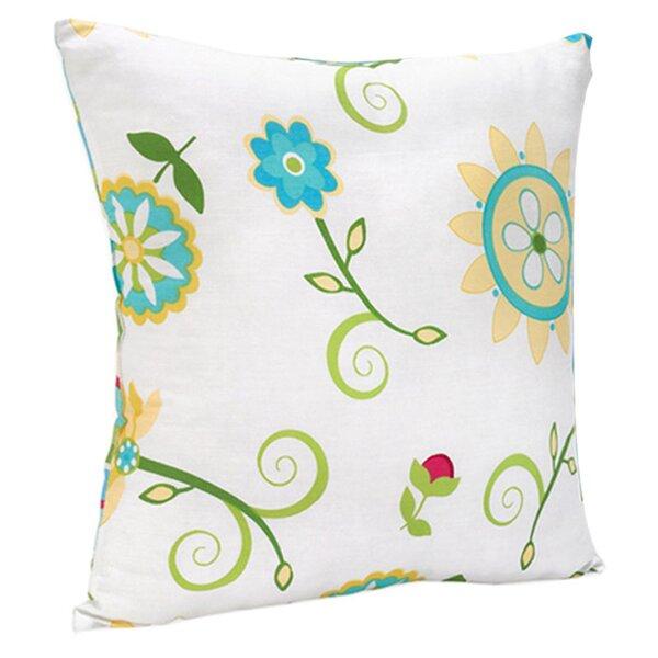 Layla Cotton Throw Pillow by Sweet Jojo Designs