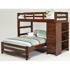 Twin Over Full L-Shaped Bunk Bed by Chelsea Home