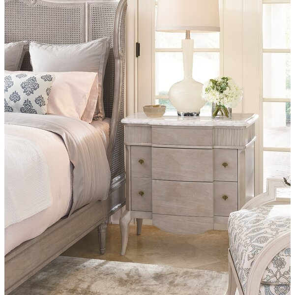 Quintessence Sorbonne 2 Drawer Nightstand by Fine Furniture Design