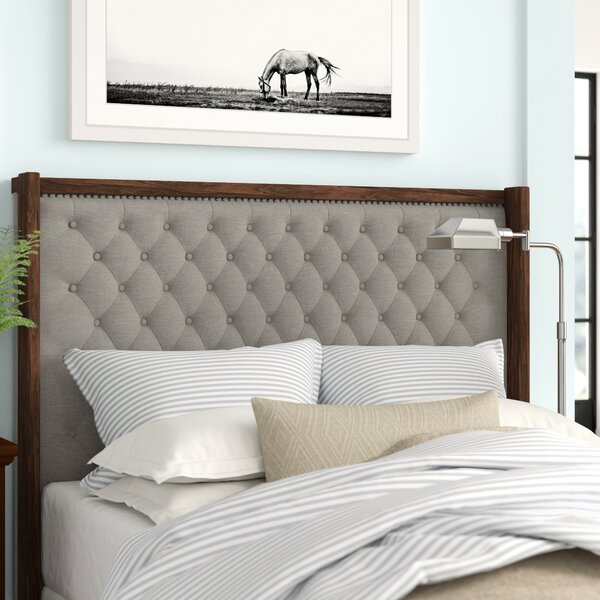 Northwich Upholstered Panel Headboard by Three Posts