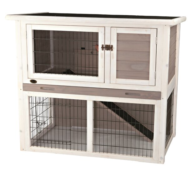 Marta Small Animal Hutch with Sloped Roof by Tucker Murphy Pet